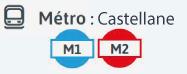 lignes métro marseille